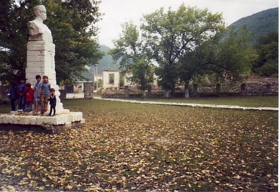 Парк им, А.Шерипова в 2006-м году.