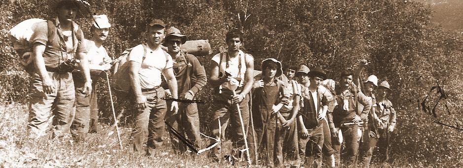 Поход в Грузию, 1988г.