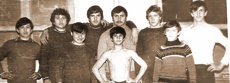 Секция тяжелой атлетики, 1978г.
