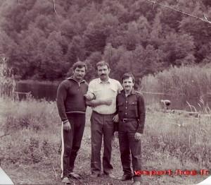 Бауд Ахмадов, Гайса, Хамзат Ахмадов на Голубом озере
