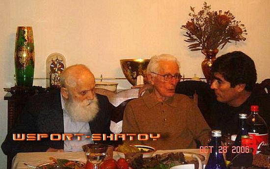 Хамид из Химоя и Салауди Гугаев - первые чеченские поселенцы в Америке