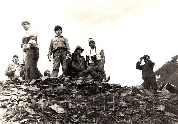 На вершине горы Борбало